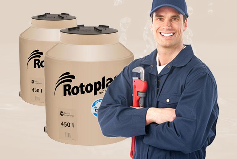 Instalación de Rotoplas en Tijuana, Codific Plomería y Electricidad en Tijuana