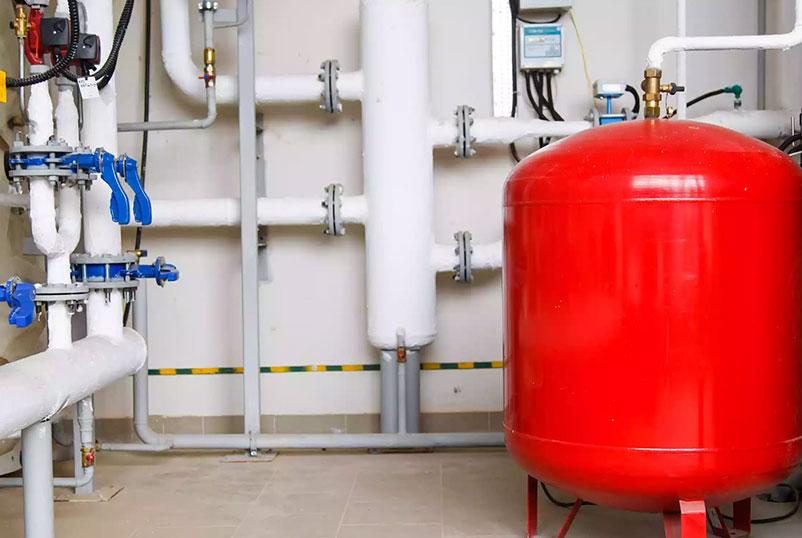 Instalación de tanque estacionario de gas en Tijuana, Codific Plomería y Electricidad en Tijuana